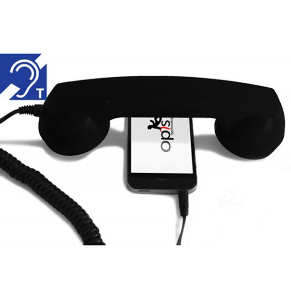 Induktiver Telefonhörer für Handys und Smartphones Opis 60s Micro hEar