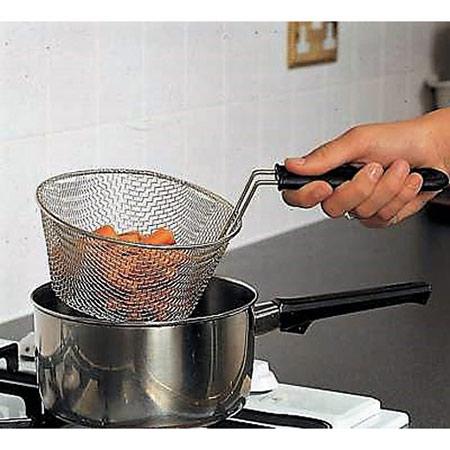 Kochkorb aus Edelstahl
