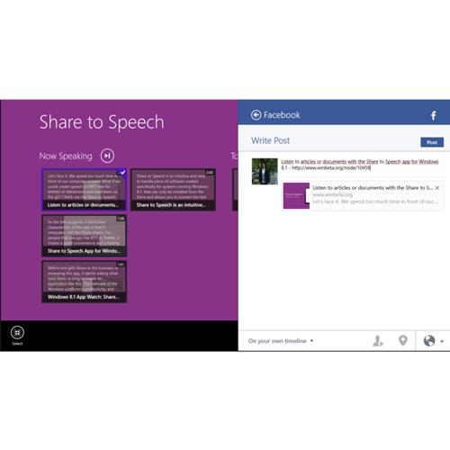 Share to Speech