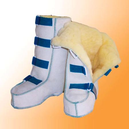 Reha-Stiefel mit Klettverschluss