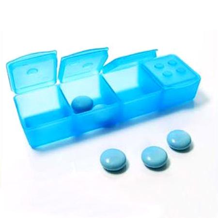 Tablettenbox für unterwegs