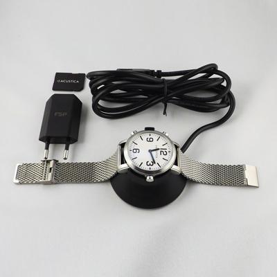 Acustica - Armbanduhr mit Zubehör
