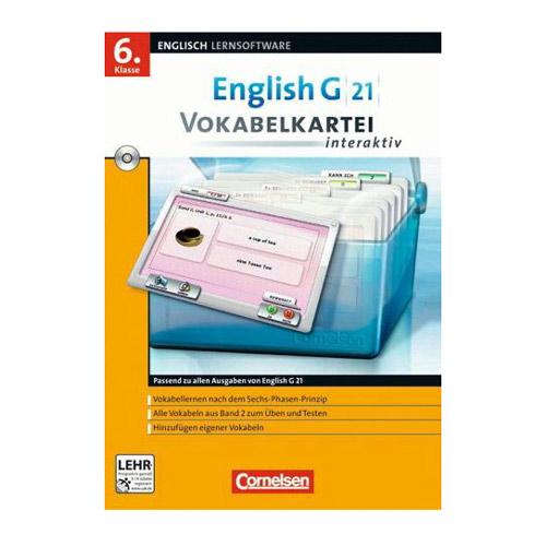English G 21 - Vokabelkartei interaktiv, Band 2