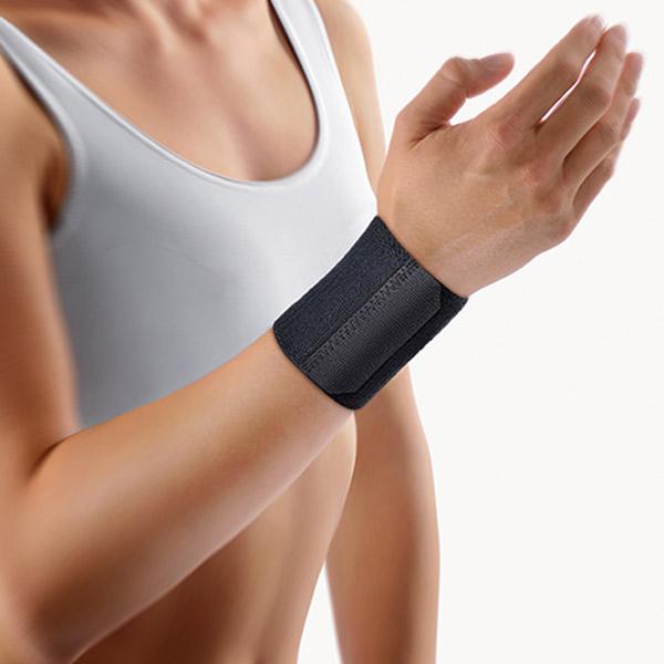 Handgelenkbandage mit Klettverschluss