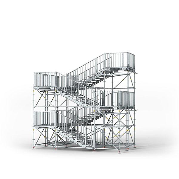 Rohbautreppe (Bildquelle: H.ZWEI.S DESIGN – BG BAU)