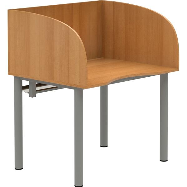 EDV-Tisch mit Sichtblende