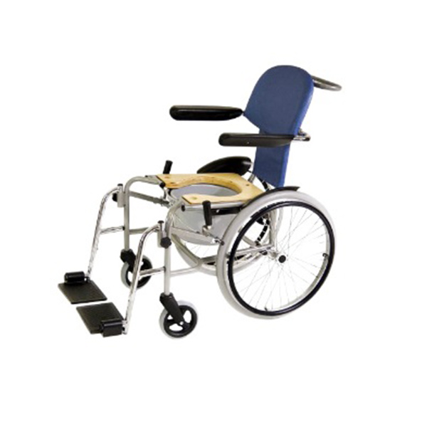 RZ Mini - Variante mit abnehmbaren Beinstützen und Toiletteneinrichtung