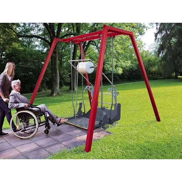 Koller-Rollstuhlschaukel