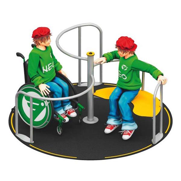 Playparc Rollstuhlkarussell Orbiter