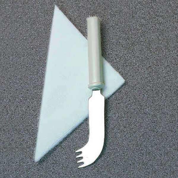 Messer Gabel Kombination für einhändiges Essen