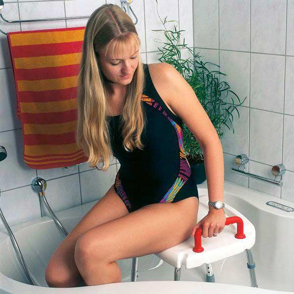 Servocare Duschstuhl ohne Rückenlehne