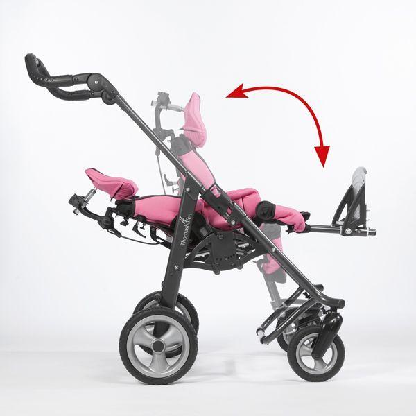 Sitz- / Ruheposition tRide Reha-Wagen