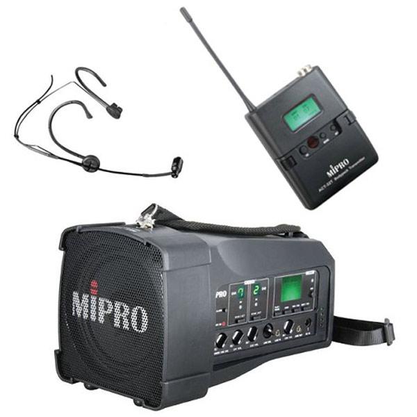 Mobiler High End Sprachverstärker mit Funkeinheit und Mikrofon