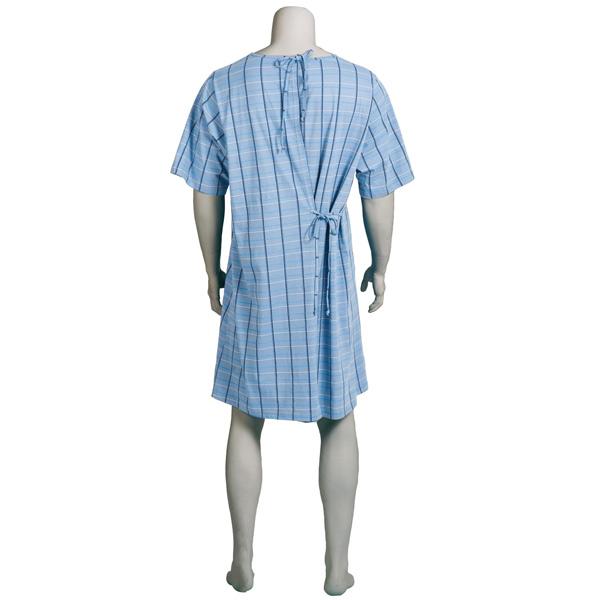 Pflegehemd für Herren, ½ Arm