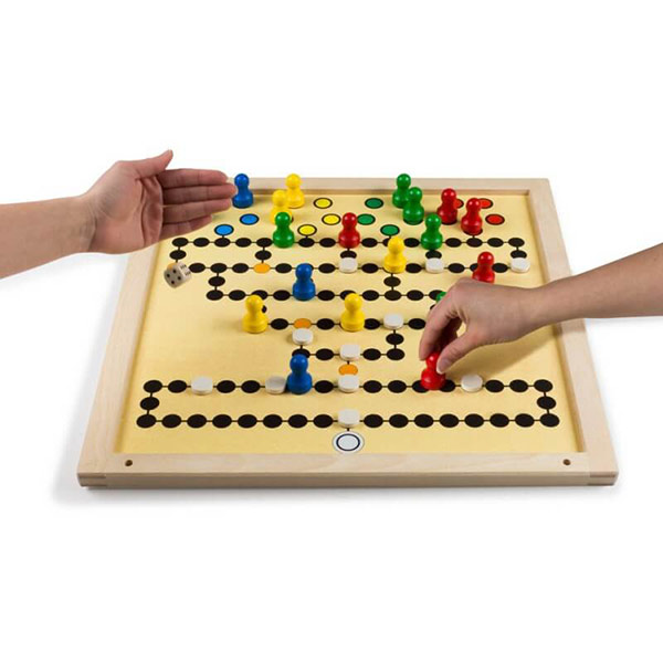"Extra großes Magnetspiel Brettspiel ""Malefiz"""