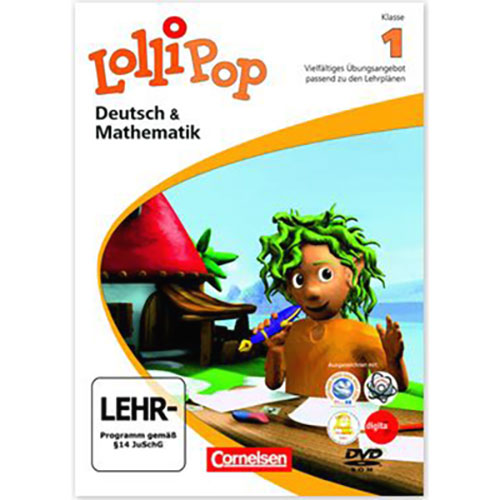 Lollipop Deutsch und Mathematik Klasse 1