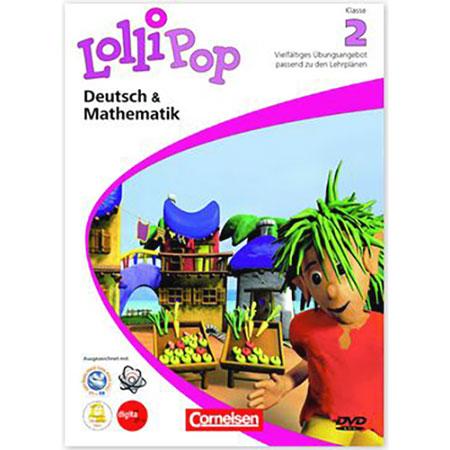 Lollipop Deutsch und Mathematik Klasse 2