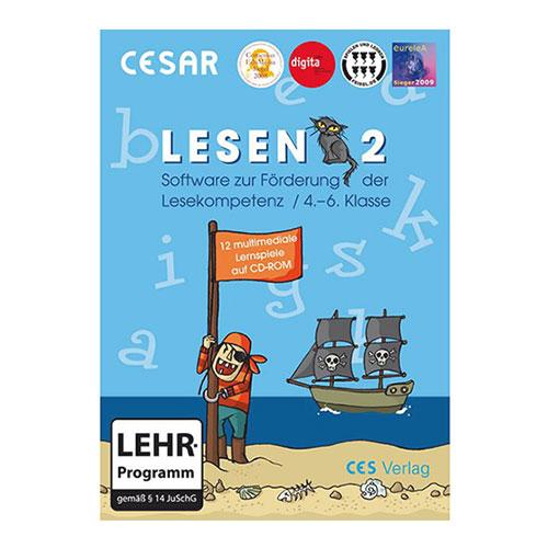 CESAR Lesen 2 Hülle