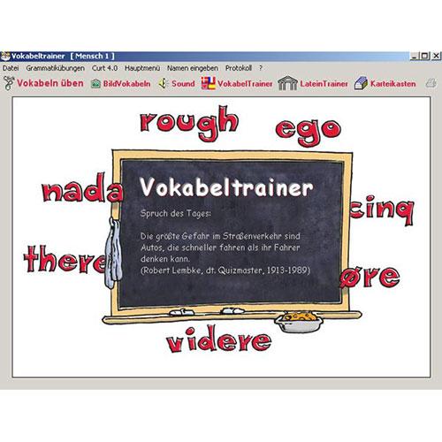 Lernsoftware Vokabeltrainer