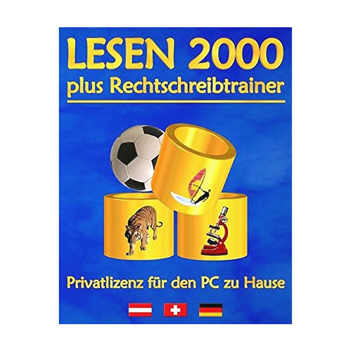 Lesen 2000 plus Rechtschreibtrainer Hülle
