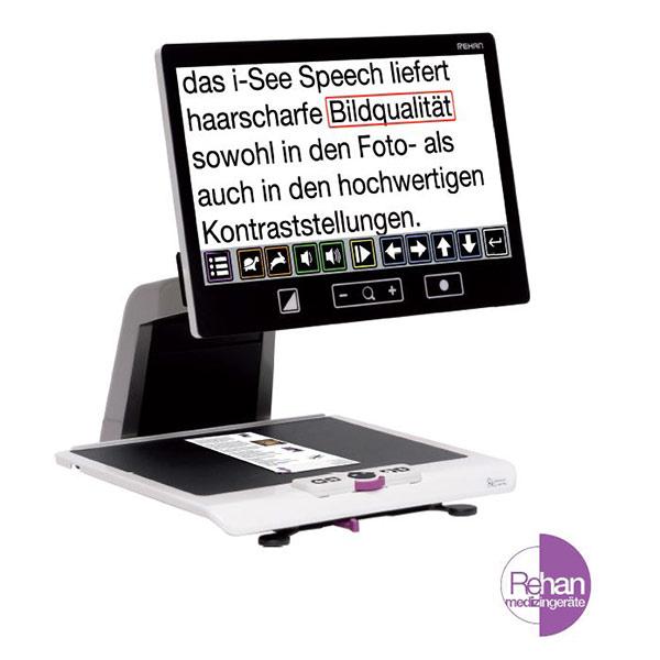 i-See Speech Bildschirmlese-Vorlesegerät