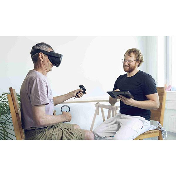 rewellio app mit Oculus Quest VR Headset