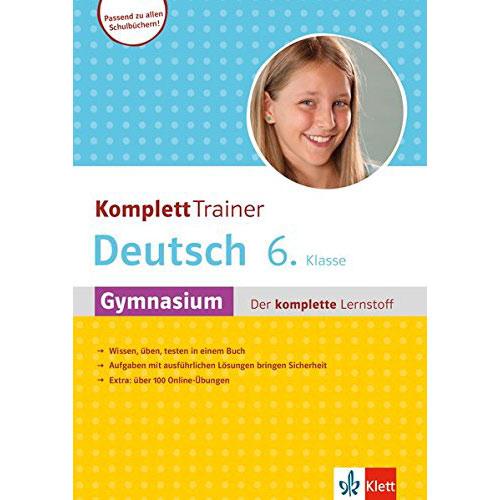 KomplettTrainer Gymnasium Deutsch 6. Klasse