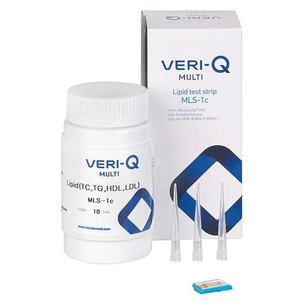 VERI-Q MULTI Lipid-Teststreifen