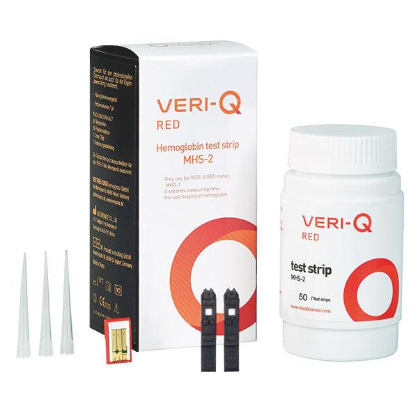 VERI-Q RED HB-Teststreifen