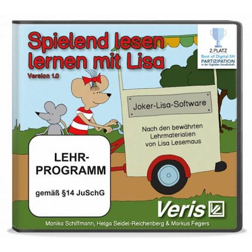Spielend lesen lernen mit Lisa