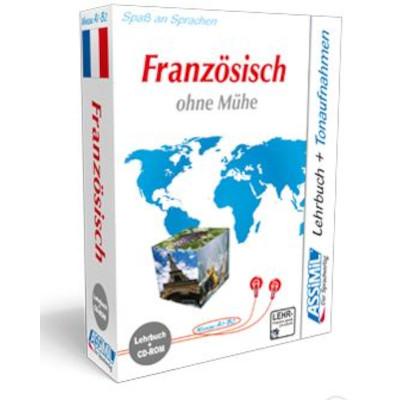 Französisch ohne Mühe (Lehrbuch + CD-ROM)