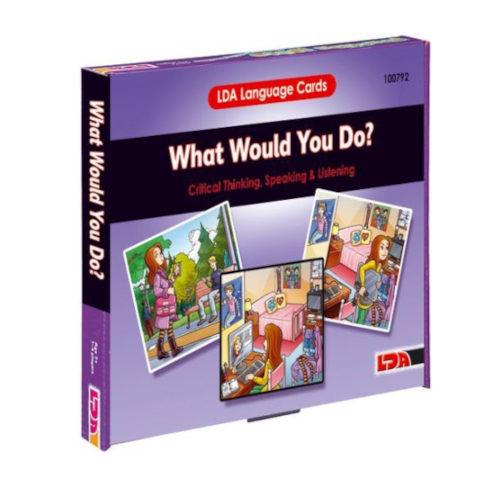 Sprachkarten Was würdest du tun?