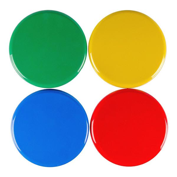 Kappen in 4 verschiedenen Farben