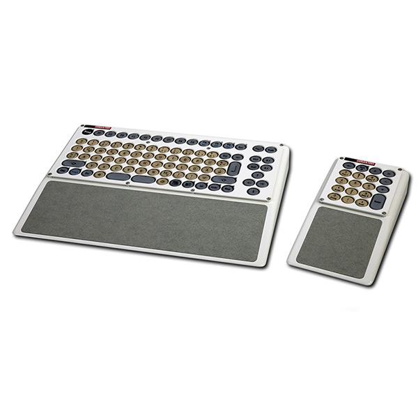 Compacttastatur rechts mit Handballenauflage