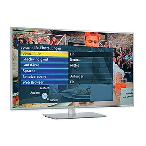 Sprechende Fernseher von Panasonic