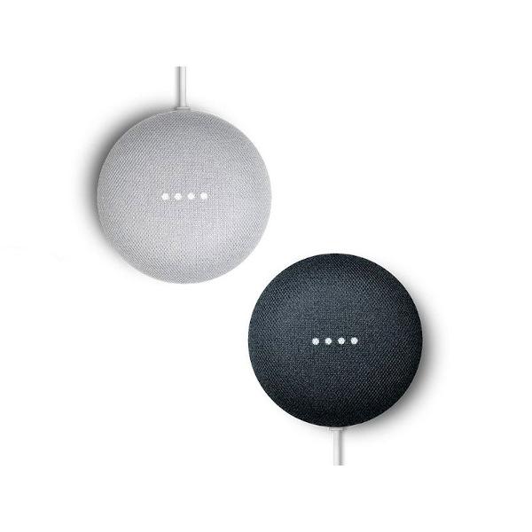 Google Nest Mini in zwei Farben