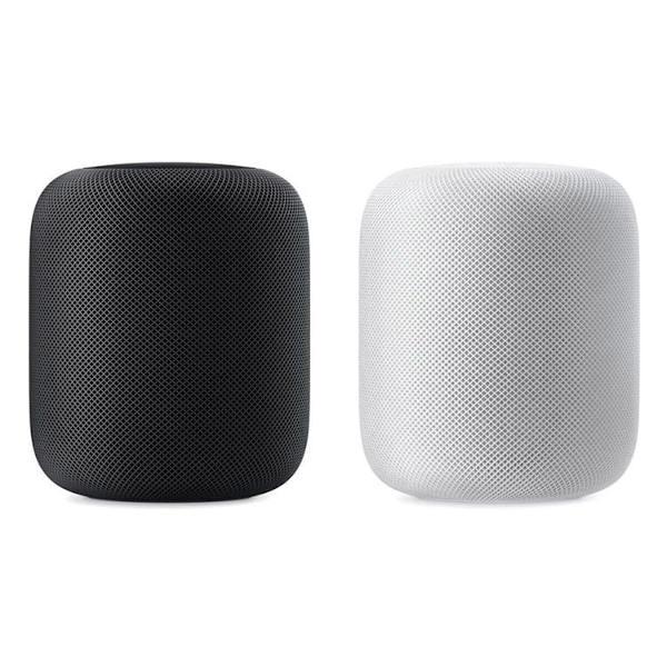 Apple HomePod in zwei lieferbaren Farben