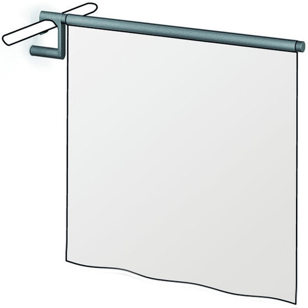 Duschspritzschutz zum Einhängen