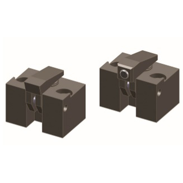Hydraulik-Niederzugspanner, ohne/mit Kugelelement