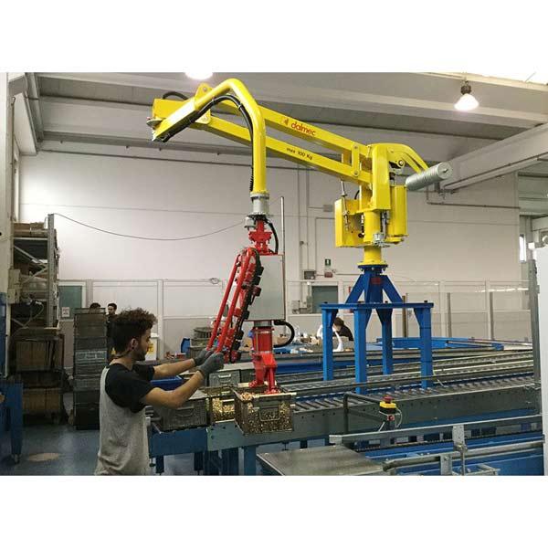 dalmec PARTNER EQUO PE - Handhabung von Metallbehältern