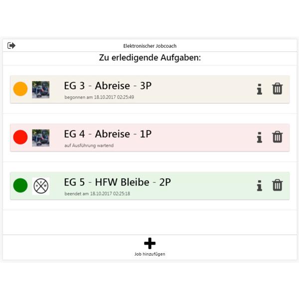 Beispiele aus der App EJO