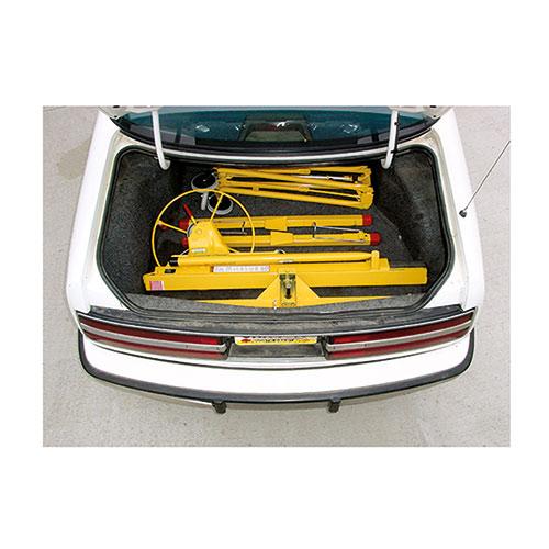 Trockenbaulift für den Transport geeignet