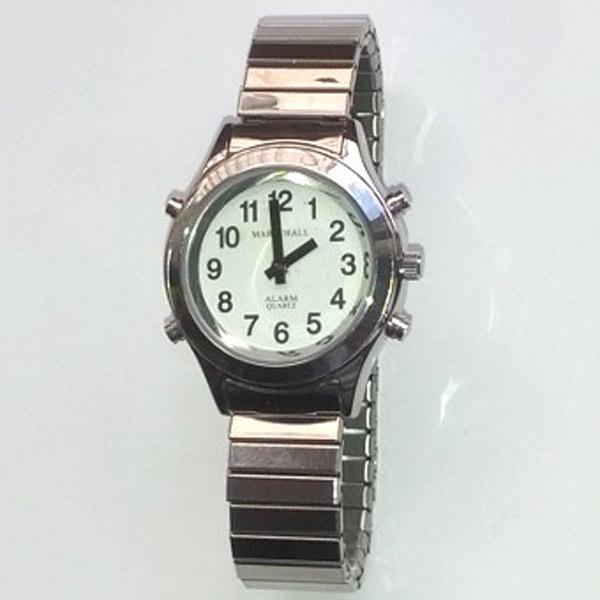 Sprechende Armbanduhr VoiceTime Lady mit Zugarmband