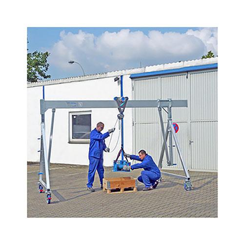 Aluminium-Schnellbau-Portalkran