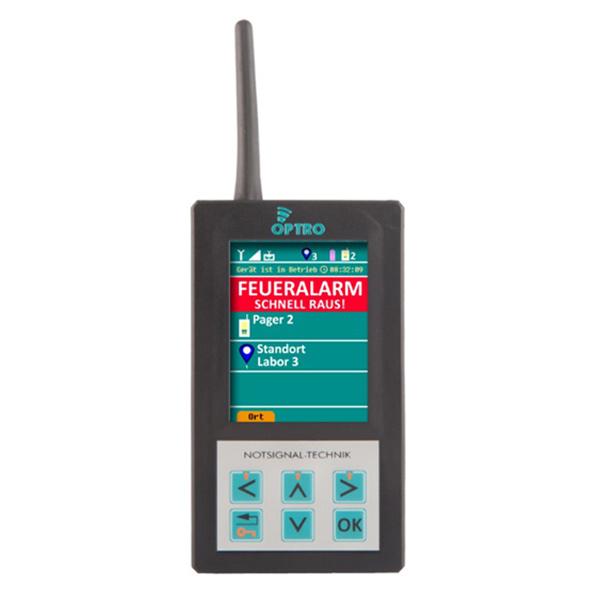 Alarm Pager - OPTRO EVA -Messenger Evakuierungssystem für Gehörlose