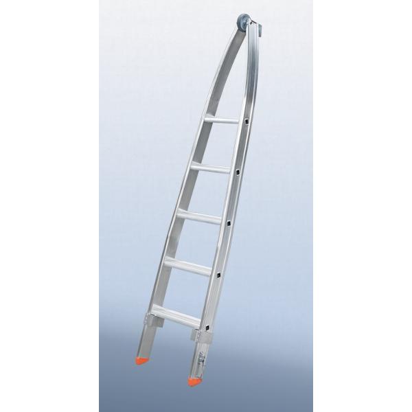 Stufen-Glasreinigerleiter, Spitze Größe 5