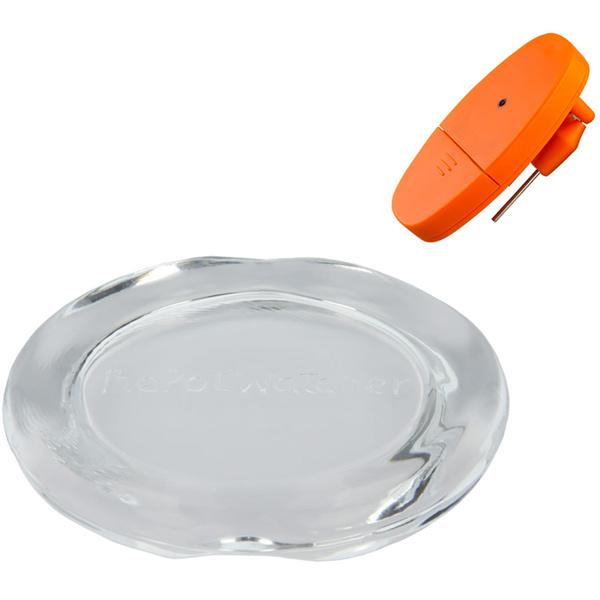 2-teiliges Set Koch- und Überlaufschutz mit akustischem Alarm für Blinde