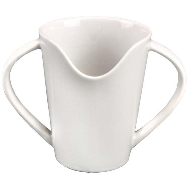 Nasenbecher Porzellan Trinkhilfe mit 2 Henkeln