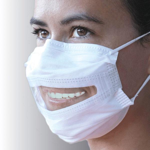 Atemschutzmaske mit Sichtfenster