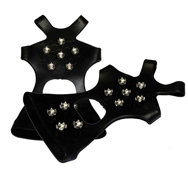 Schuh-Spikes Basic, flache Schuhe, Kunststoff/Stahl